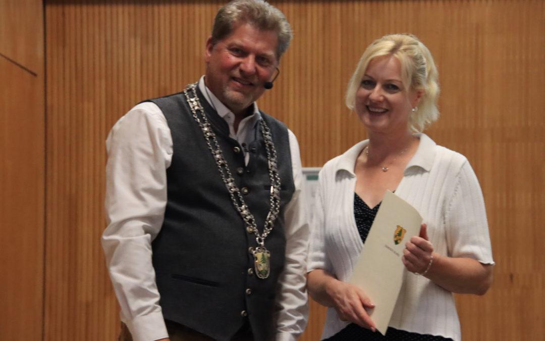 Monika Metzger aus dem Gemeinderat verabschiedet